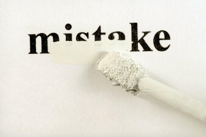 Handling Mistakes
