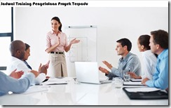 jadwal training based on the 5th edition of pmbok guide